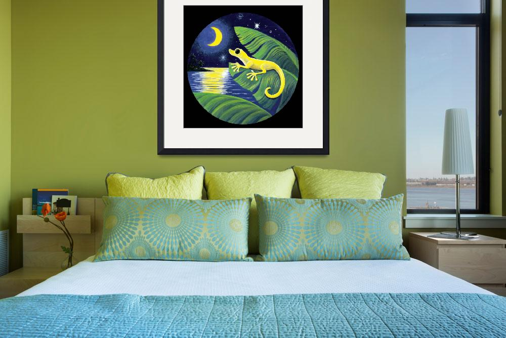 """""""Gecko and Moon&quot  by savanna"""