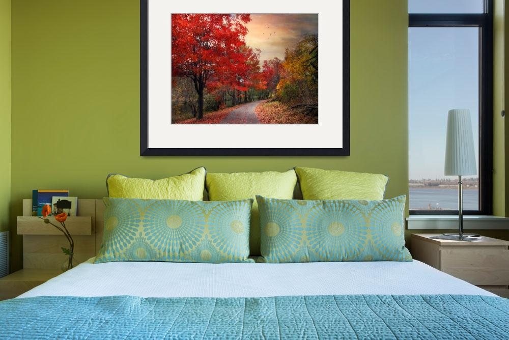 """""""Autumn Maples&quot  (2012) by JessicaJenney"""