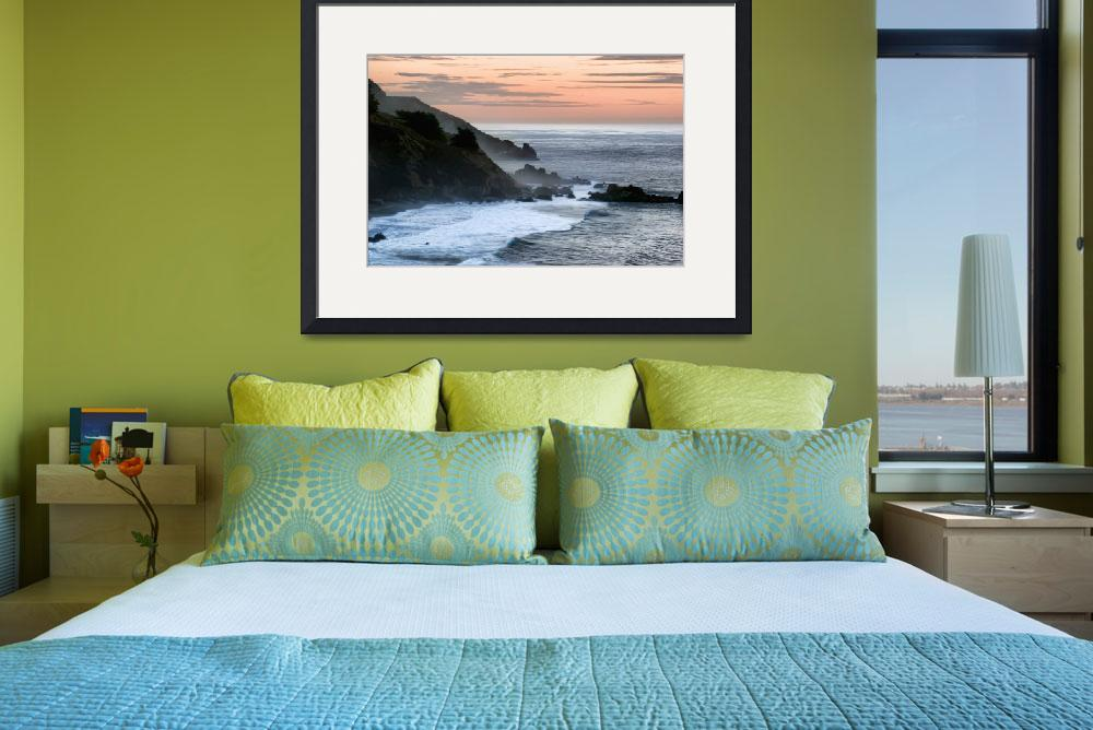 """""""Sunset on the California Coast&quot  (2005) by digitalvisions"""