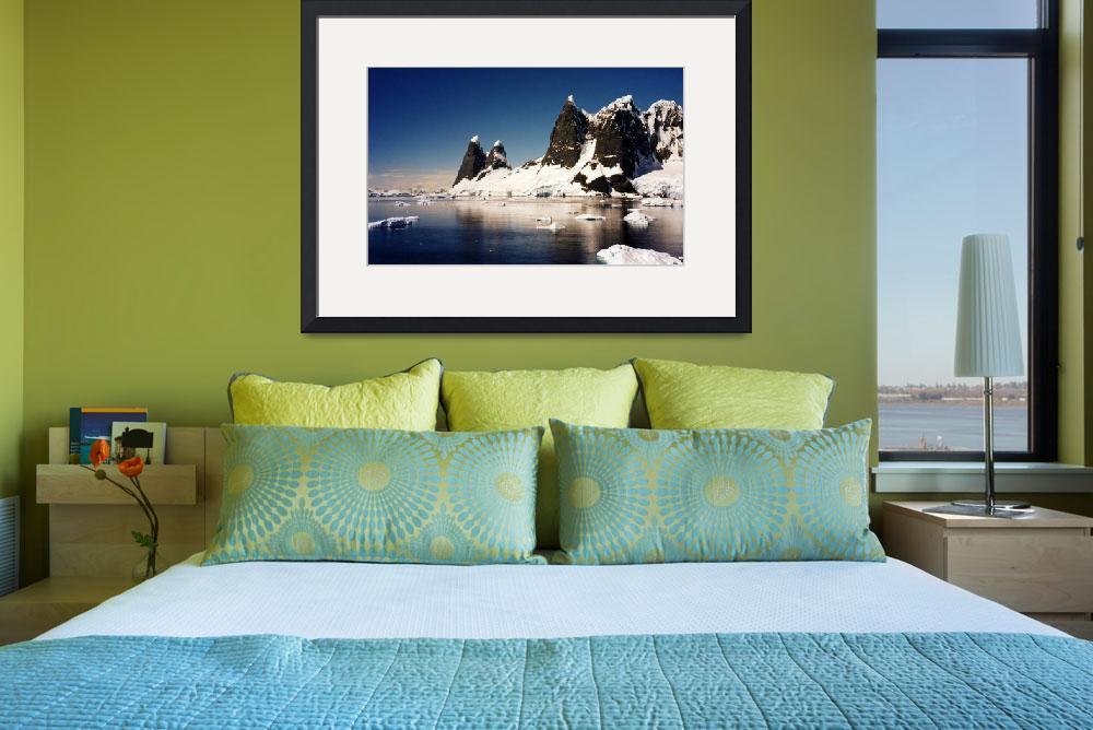 """""""Antarctica Mountains&quot  by AnnTuck"""