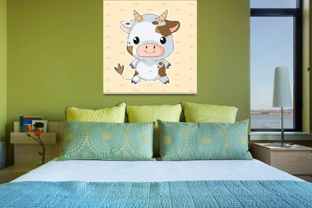 """""""Cow&quot  (2011) by nomi"""