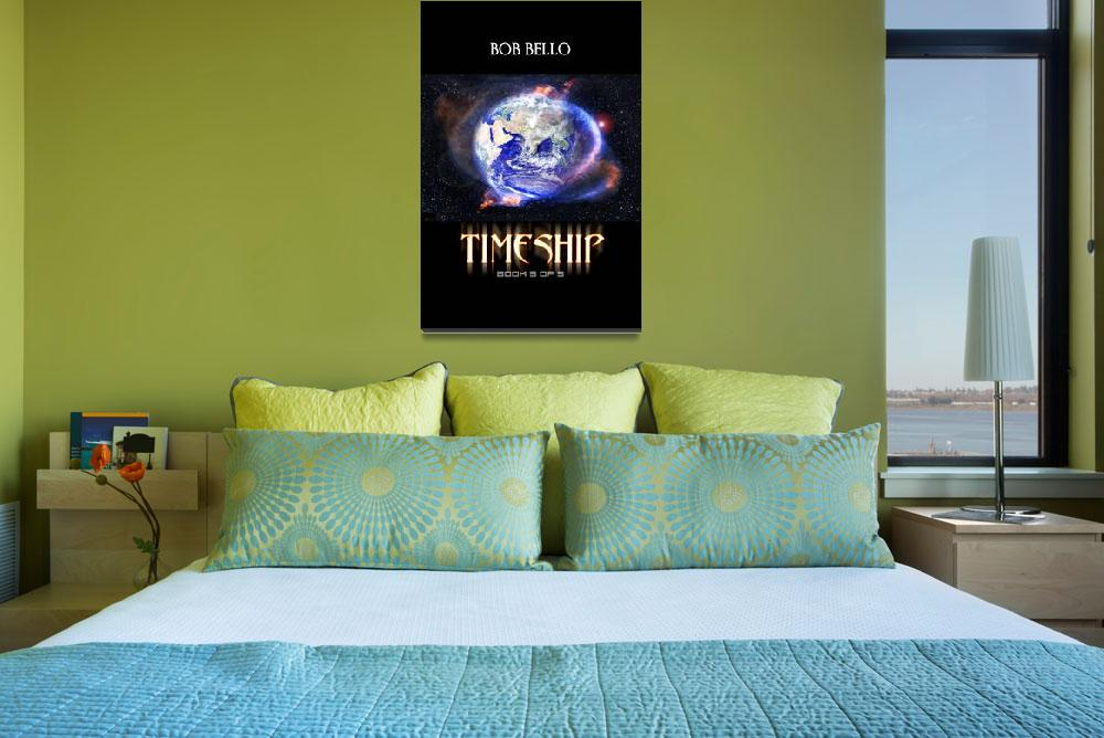 """""""Timeship 3""""  (2012) by spaceart"""