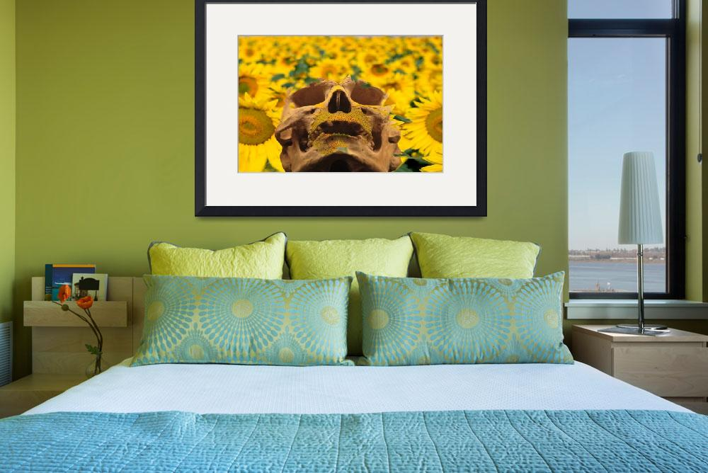 """""""Sunflowers""""  (2013) by Icarusismart"""
