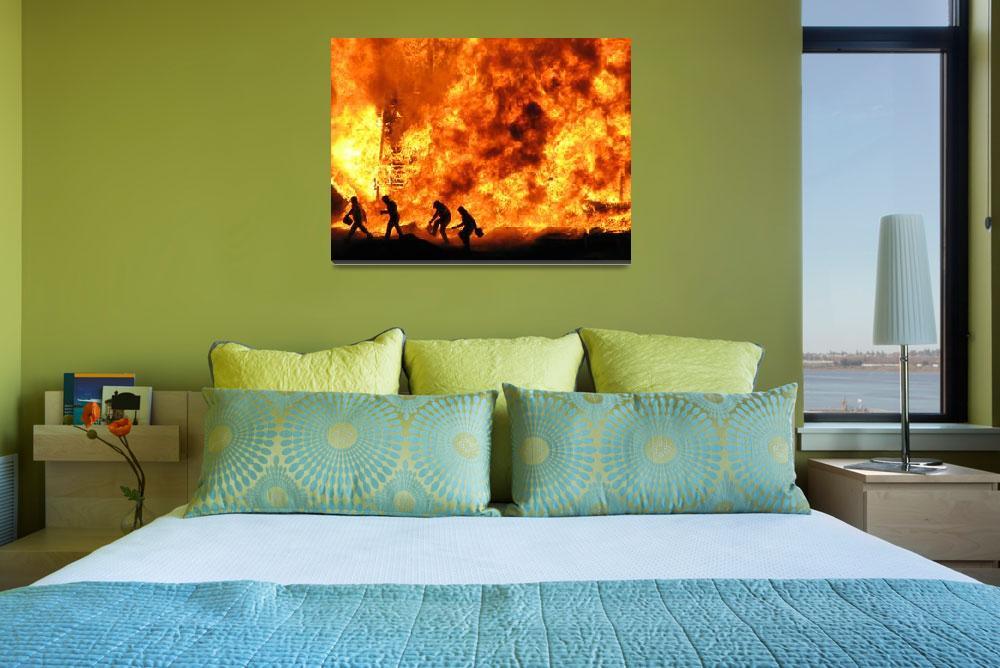 """""""Fire Escape""""  (2007) by Gunnsi"""