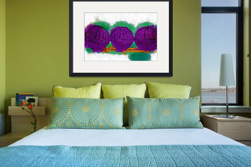 """""""The Purple Balls""""  (2015) by Kirtdtisdale"""