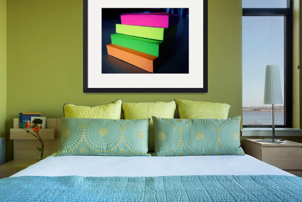 """Colourful Post Its""  (2008) by lizmarionga"