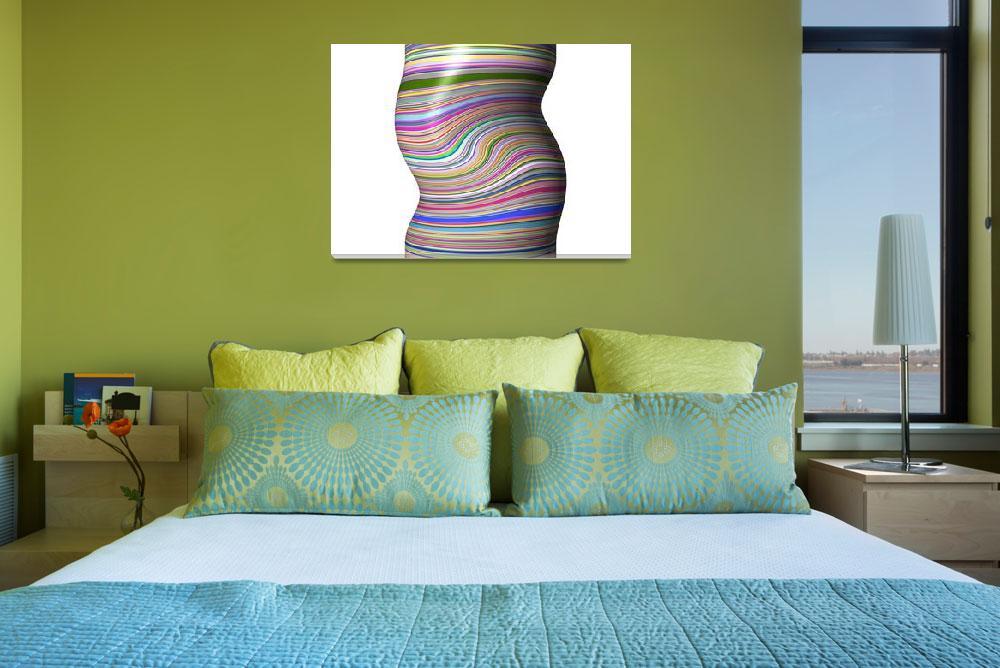 """Warped Cylinder""  (2012) by AprilO"