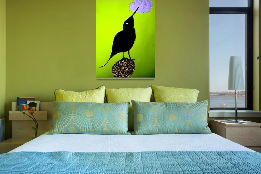 """""""a bird""""  by TomerTal"""