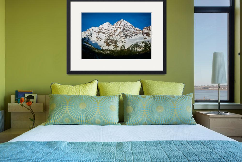 """""""Maroon Bells #5&quot  by NewTake"""