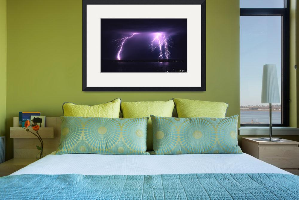 """""""Puget Sound Lightning 2 crop&quot  (2005) by christopherboswell"""