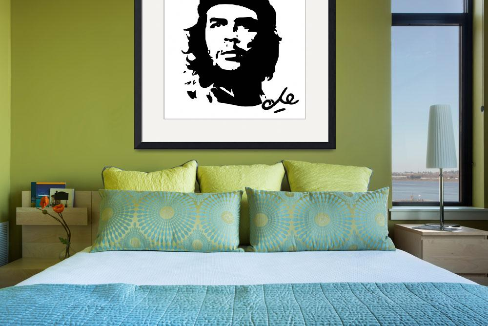 """Che Guevara Poster&quot  by motionage"