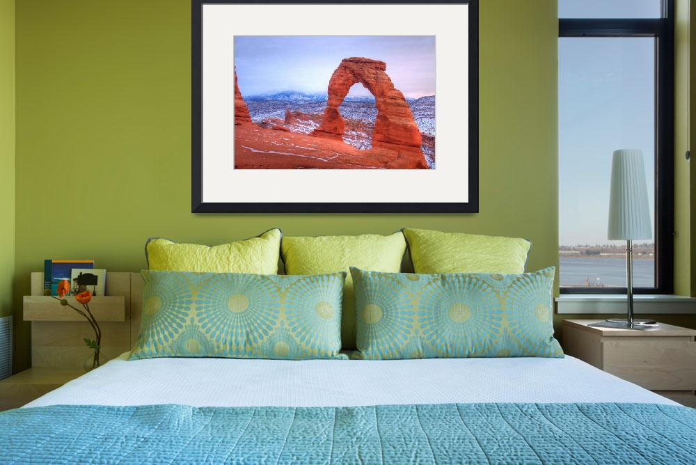"""""""The Delicate Arch&quot  by gbonnema"""