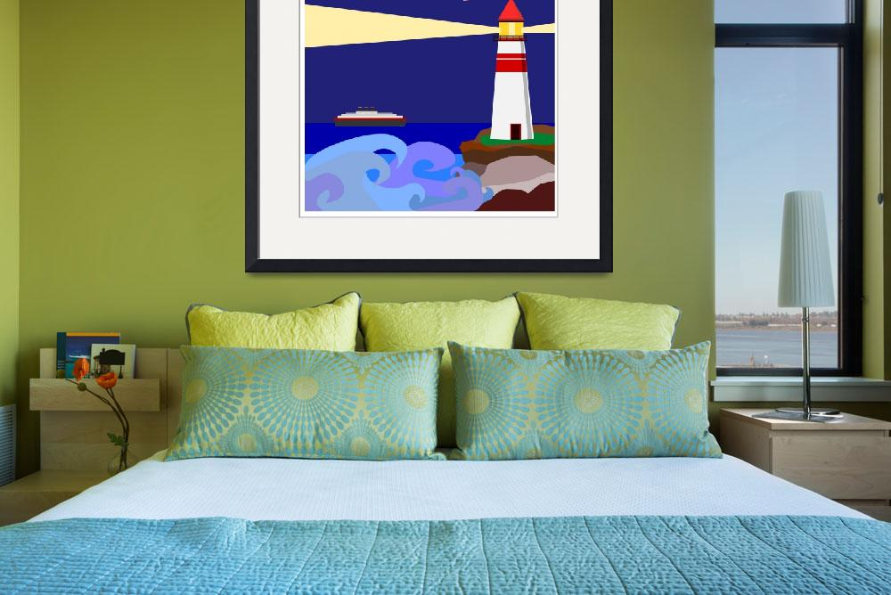 """""""Lighthouse Warning""""  (2011) by debband"""