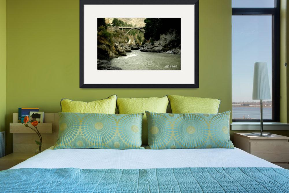 """""""New Zealand - Shotover River Canyons&quot  (2008) by AshDav"""
