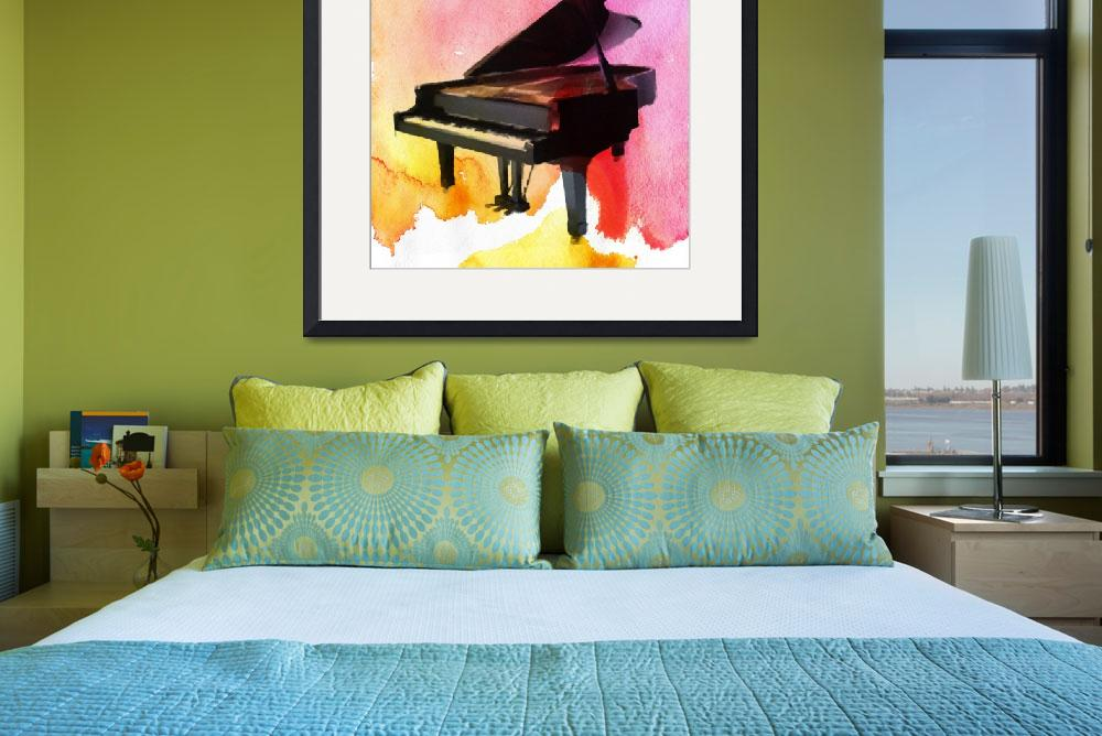 """""""Colorful Piano&quot  by Aneri"""
