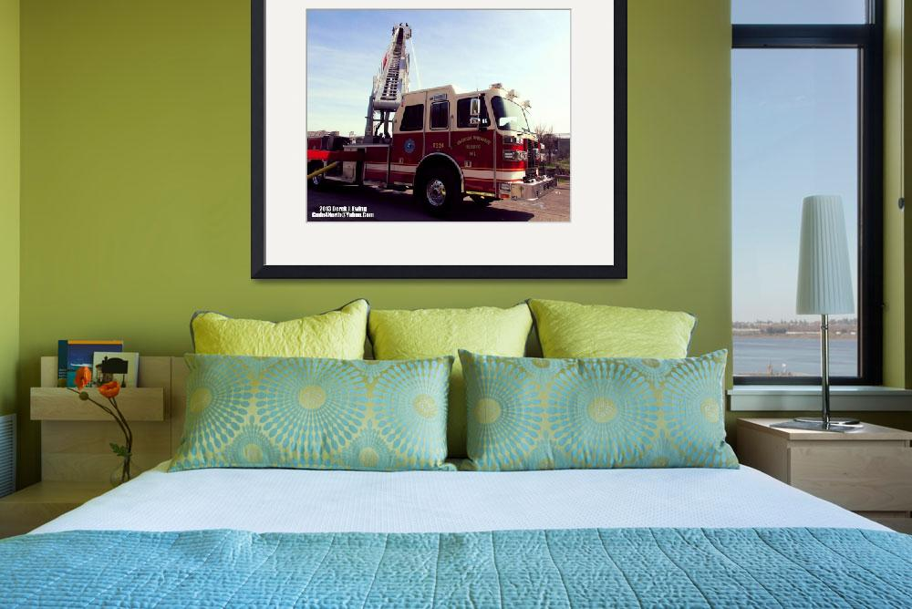 """Halfmoon-Waterford FD Truck 324 (Truck 4)&quot  by Code4North"