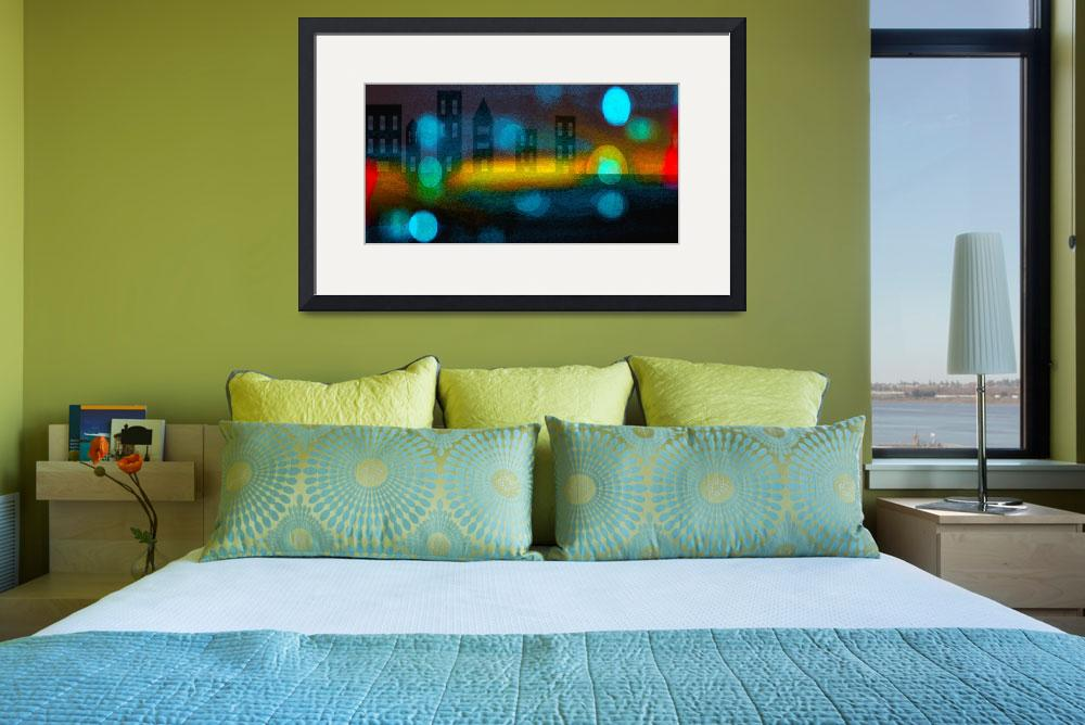 """""""City Lights&quot  (2011) by LJdesigns"""