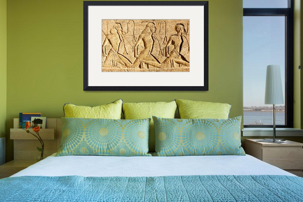 """""""Ancient Egypt Framed Print&quot  by buddakats1"""