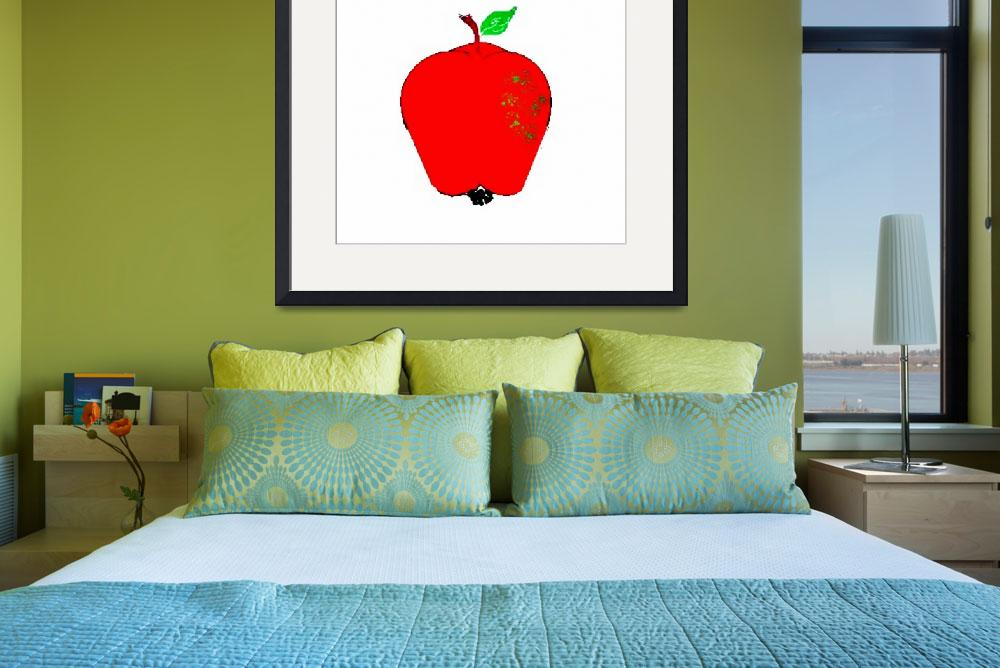 """""""Apple&quot  (2010) by angbkrtreasures"""