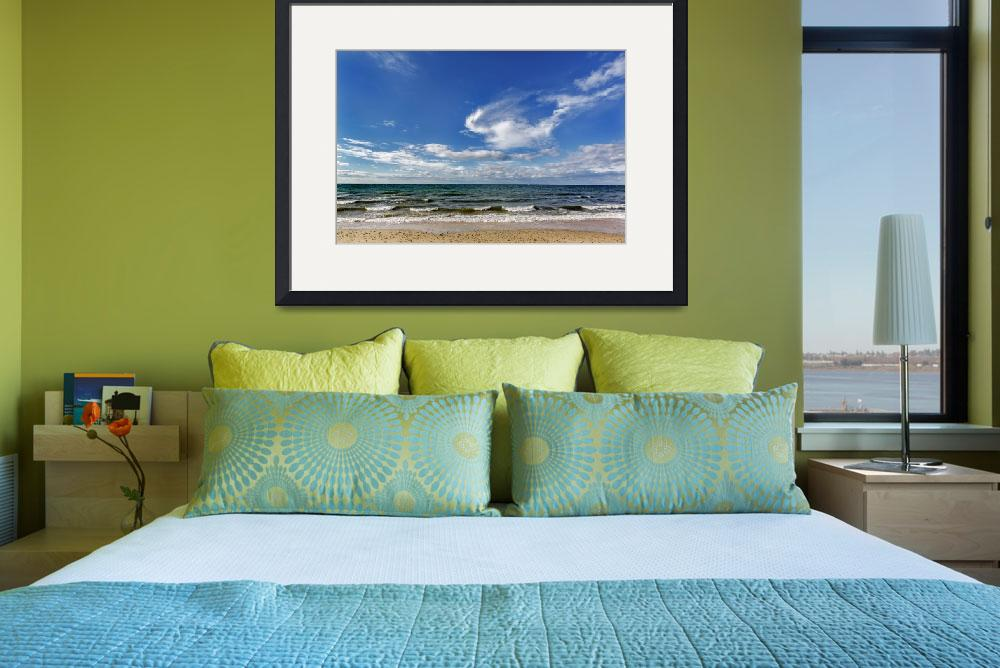"""""""Montauk Seascape 1""""  by ChrisLearyPhotography"""