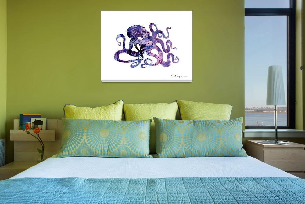 """Octopus""  (2015) by k9artgallery"