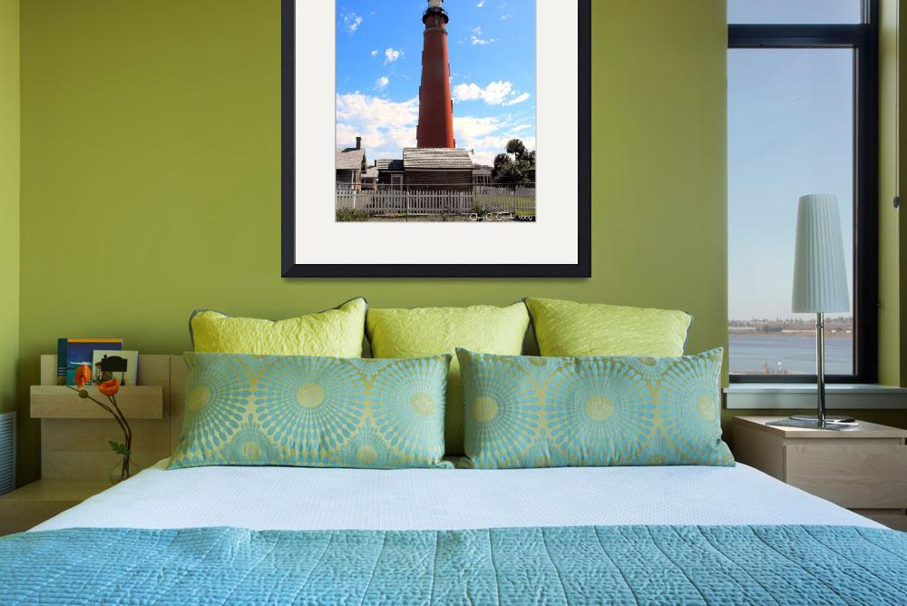 """""""The Lighthouse Looms Large""""  (2009) by ChrisCrowley"""