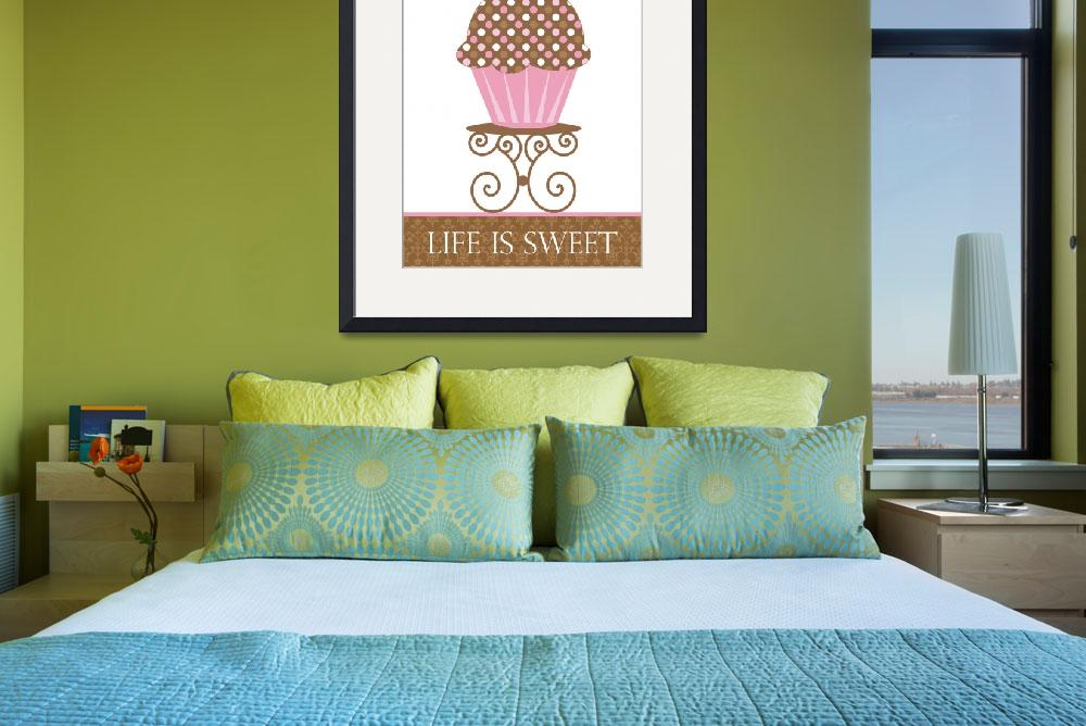 """""""Life is Sweet&quot  (2009) by cocoastudio"""
