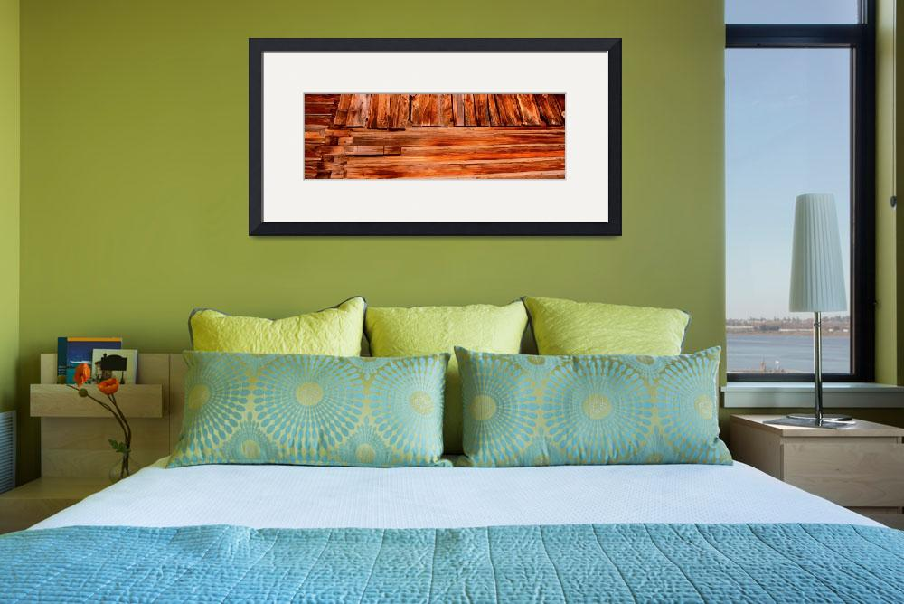 """""""Detail weathered wooden barn CA&quot  by Panoramic_Images"""