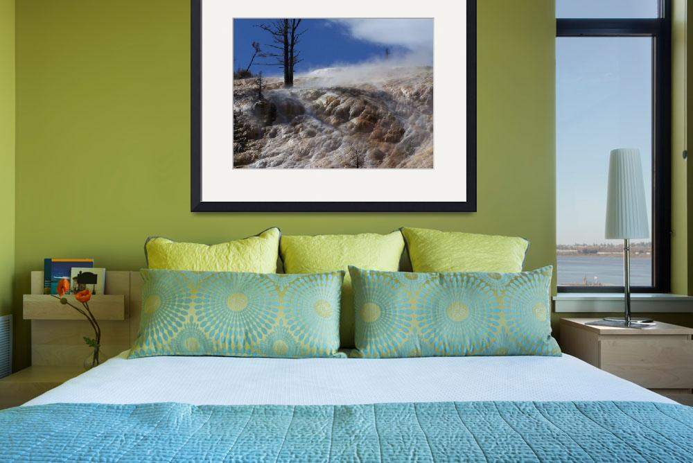 """""""Mammoth Hotsprings&quot  by Jared"""