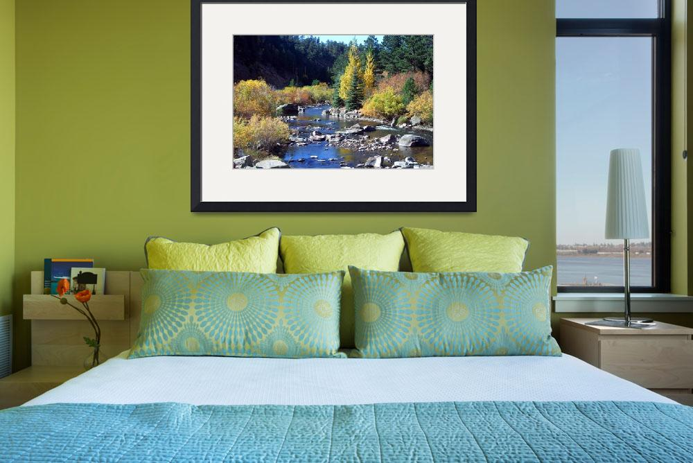 """""""The Big Thompson River of Colorado""""  (2005) by pbk"""