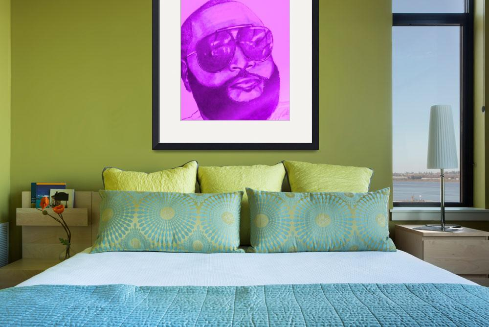 """""""Rick Ross&quot  (2011) by talynneted"""
