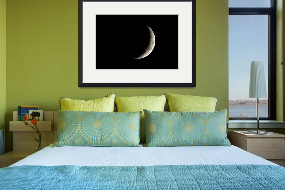 """""""Crescent Moon&quot  (2007) by MarthaDean"""