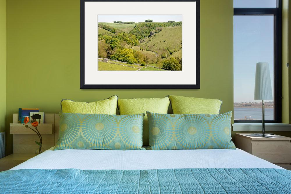 """""""Hilltop View Above Mill Dale (23262-RDA)&quot  (2010) by rodjohnson"""