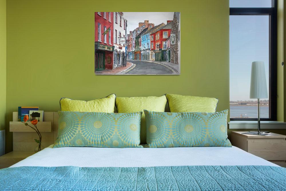 """Kilkenny, Ireland""  by fineartmasters"