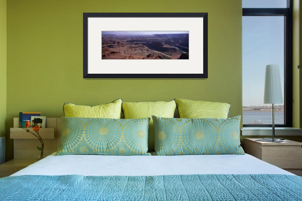 """""""Goose Neck Colorado River Dead Horse Point State P&quot  by Panoramic_Images"""