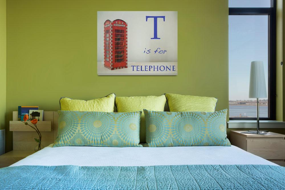 """""""T is for Telephone&quot  (2009) by mkcphotography"""