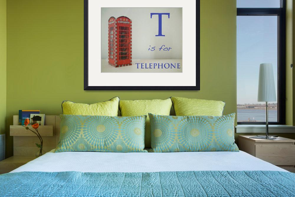 """T is for Telephone&quot  (2009) by mkcphotography"