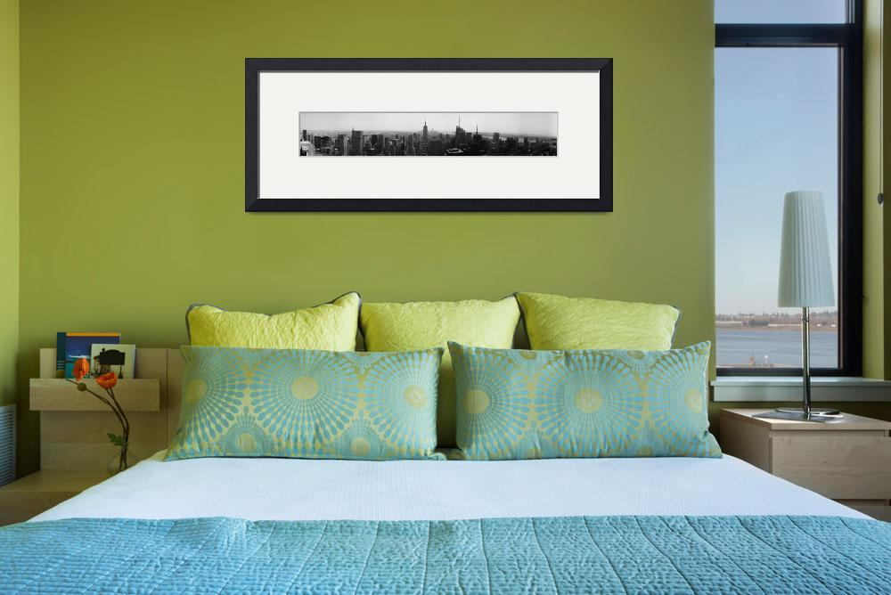 """""""NYC Skyline 1r&quot  (2012) by cricchio"""