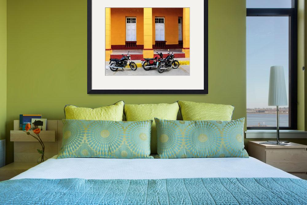 """Motorcycles, Cienfuegos""  (2012) by TNorth"