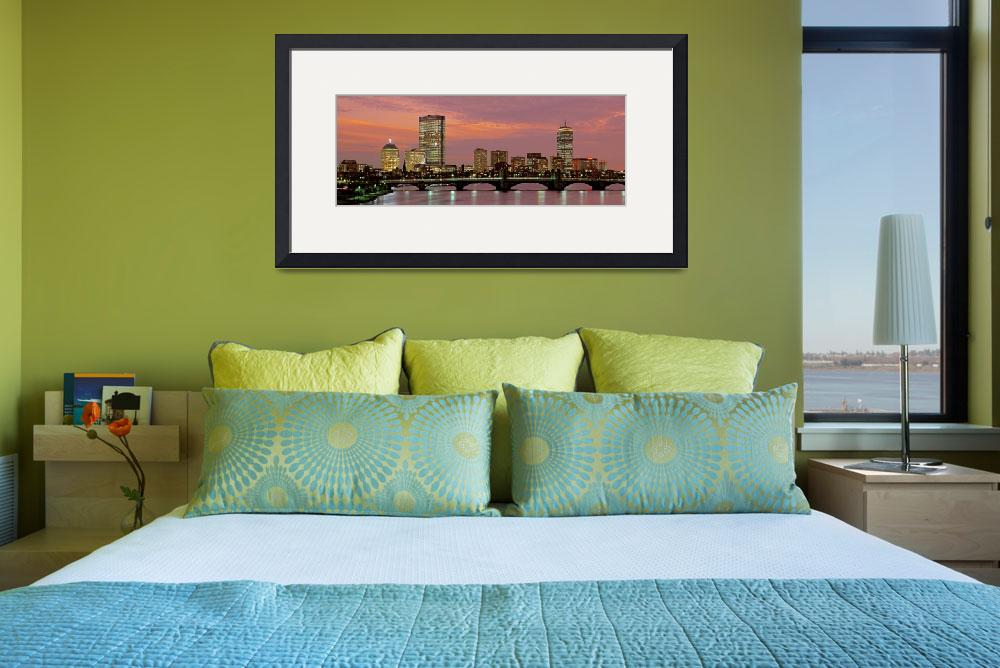 """""""Boston Back Bay&quot  by IK_Stores"""