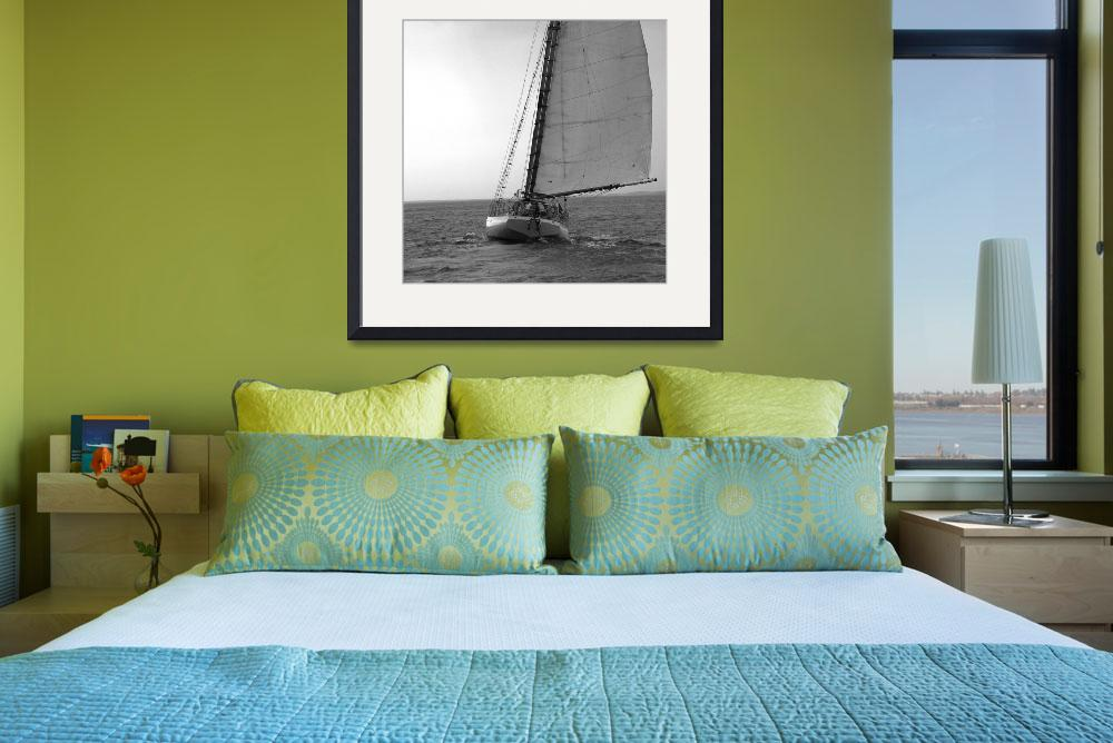"""""""Sailing Downwind""""  (2009) by MAGartworks"""