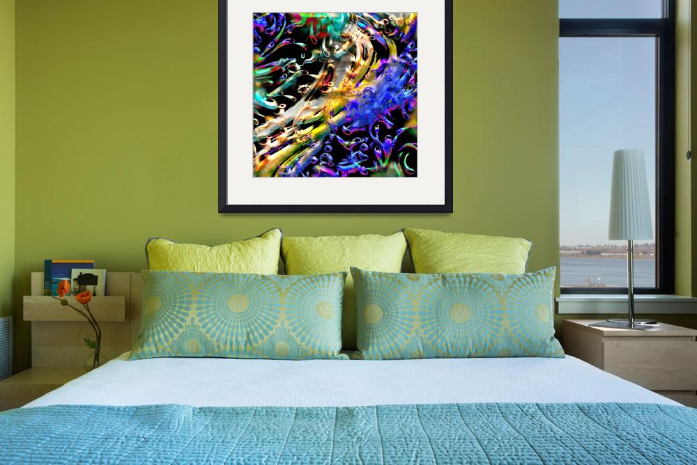 """""""MULTICOLORED WATER&quot  (2012) by interfaceart"""