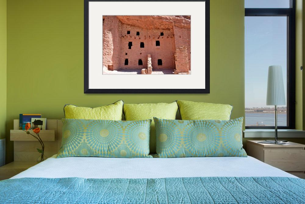 """""""Manitou Cliff Dwellings Study 10&quot  (2017) by robertmeyerslussier"""