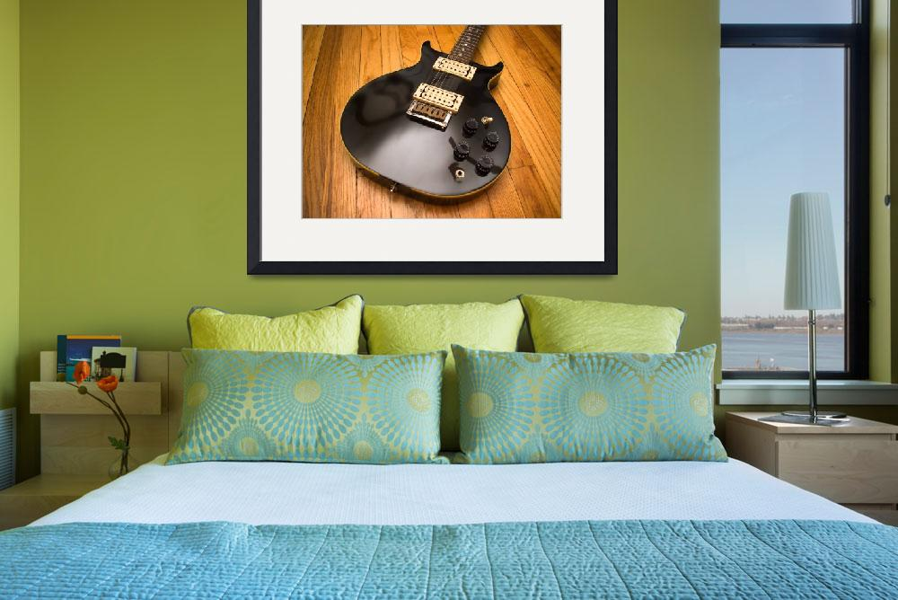 """""""Washburn electric guitar - reworked&quot  by zoetrope"""