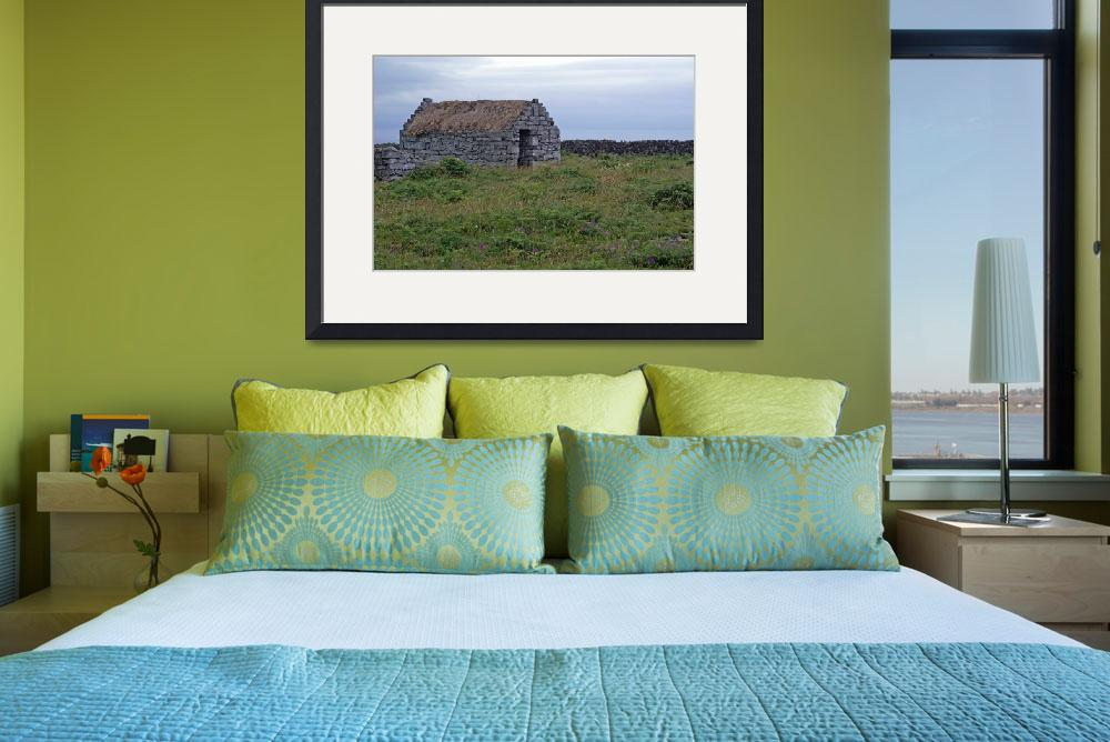"""""""Inis Meáin Cottage&quot  (2009) by staceybassoon"""