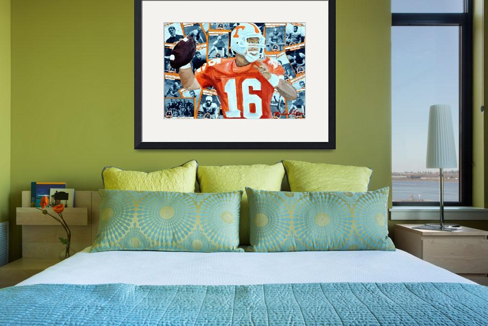 """""""Peyton Manning&quot  (2012) by riverratlee"""