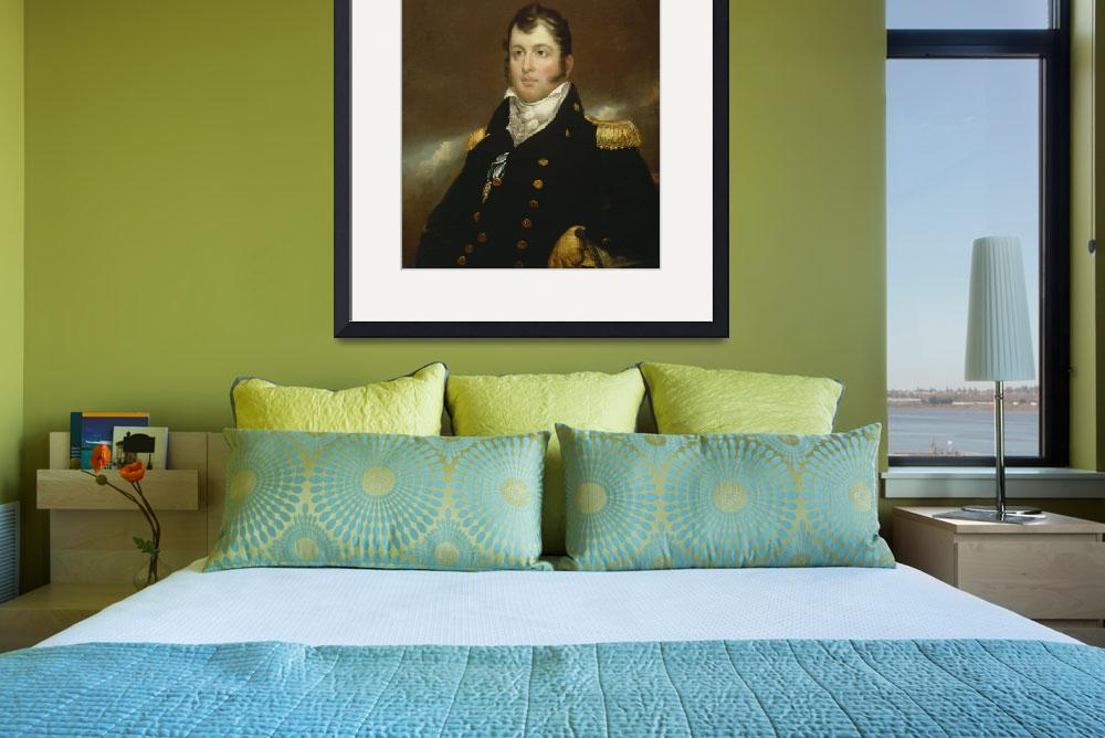 """""""Commodore Oliver Hazard Perry, c.1814 (oil on canv&quot  by fineartmasters"""