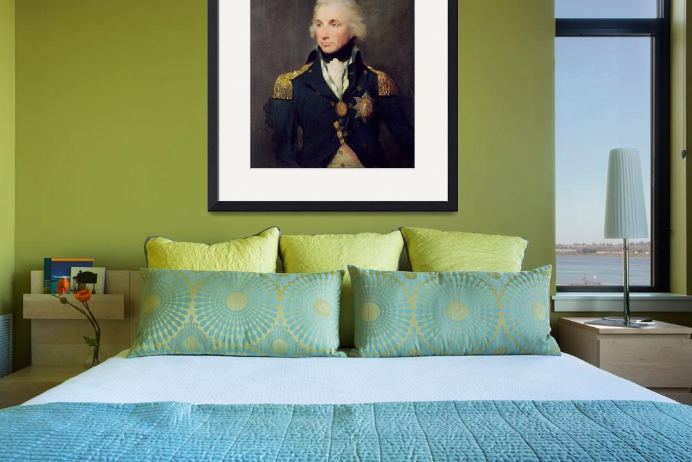"""""""Portrait of Horatio Nelson&quot  by fineartmasters"""