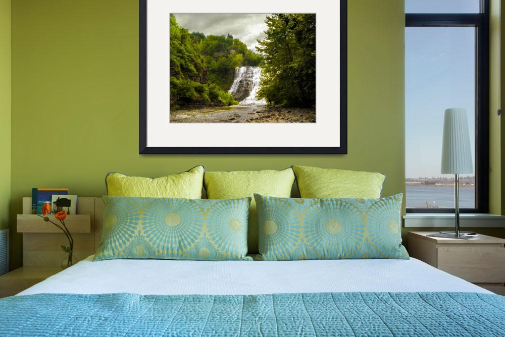 """""""Ithaca Falls&quot  (2015) by JessicaJenney"""