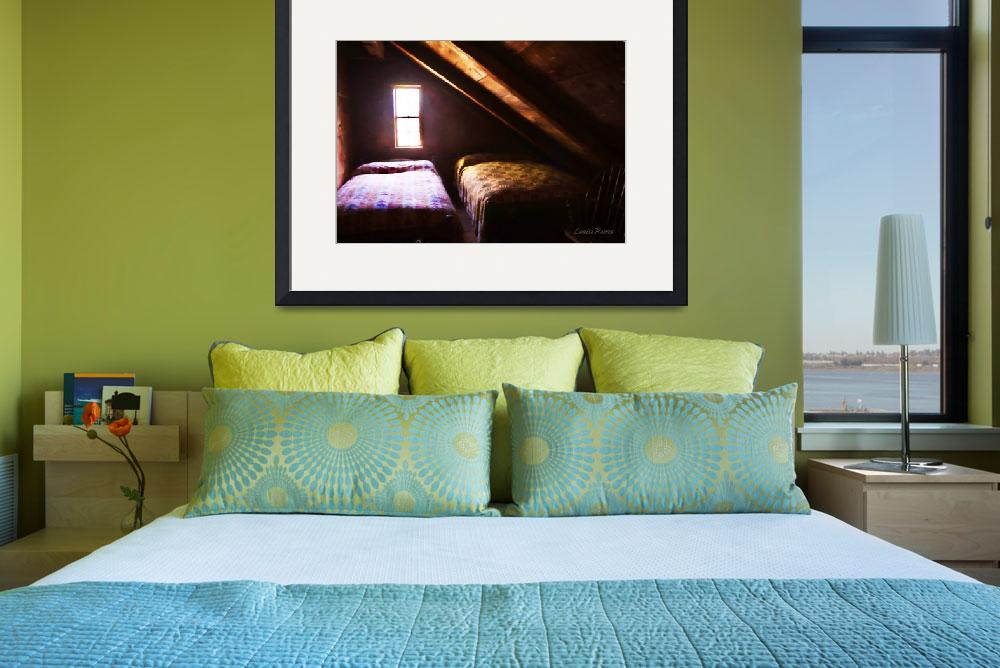 """""""Beds in the Attic&quot  (2015) by LouiseReeves"""